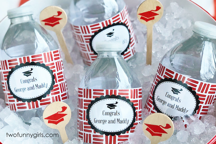 Personalized Water Bottle Labels For Graduation