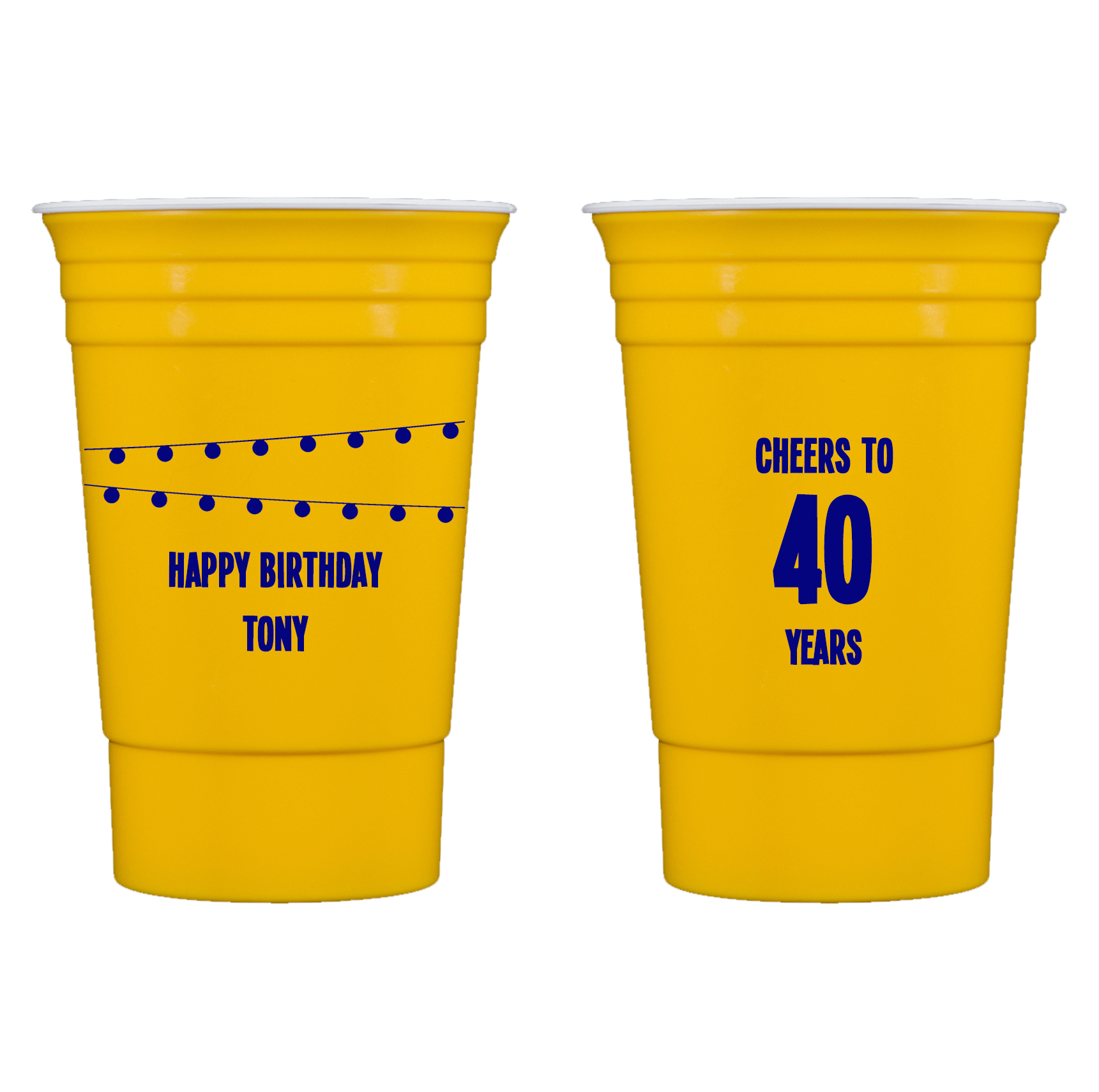 party cups outdoor entertaining pool cups personalized cups hostess gift stadium cups wedding cup favors Personalized plastic cups